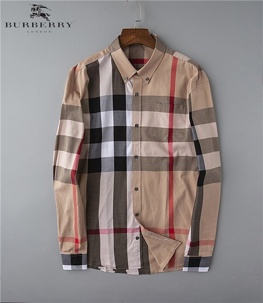 Business Casual 2020 Mens.2019 2020 New Business Casual Shirt Men S Long Sleeved Stripes Slim Bodybuilding Men S Temperament Social New Fashion Men S Plaid Shirt From Zxw8888