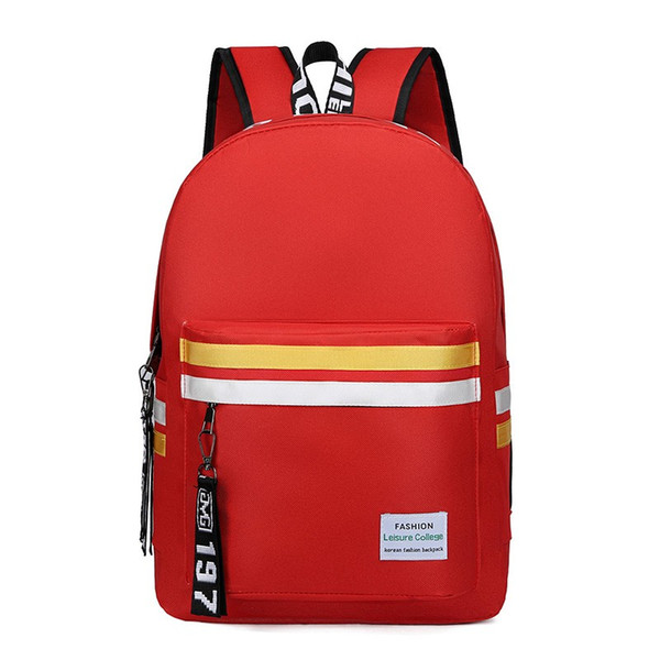 2019 large size waterproof top quality jobs mens women computer students Luxury backpacks laptop famous fashion books bag Bags 8372