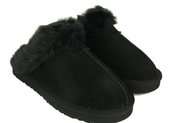 2019 NUEVOS botines de marca Calientes zapatillas de algodón cálido Hombres Zapatillas para mujer Botas para mujer Botas de nieve Diseñador de la marca Zapatillas de cuero de interior