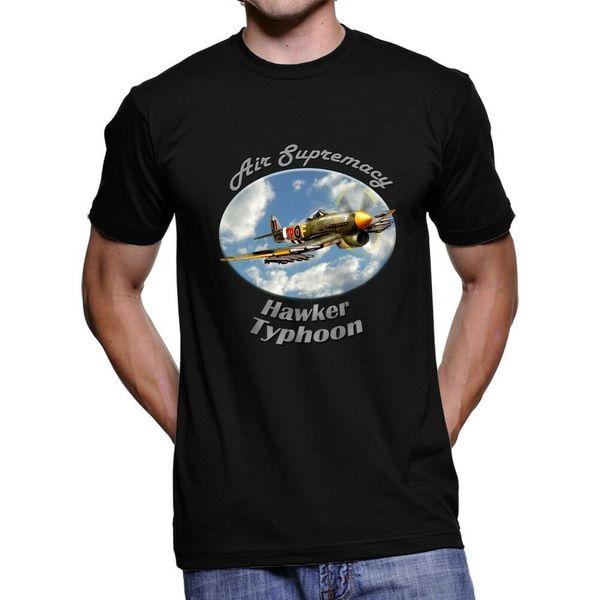 Hawker Typhoon Air Supremacy del `scuro T-shirt