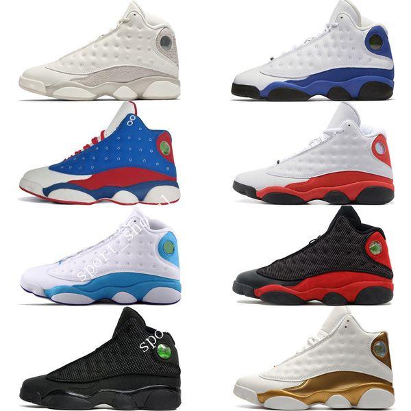 I più nuovi 13 13s Cap and Gown Terracotta Blush Mens Scarpe da pallacanestro Chicago Cat Black Infrared Flints Bred Uomo Sport Sneaker Designer US5.5-13