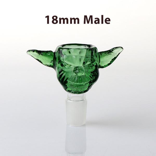 18mm Male Green Monster