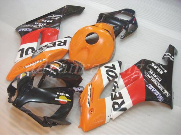 Новый ABS мотоцикл обтекатели обтекатели подходят для HONDA CBR1000RR 2004 2005 04 05 1000RR CBR1000 кузовной комплект прохладно Repsol