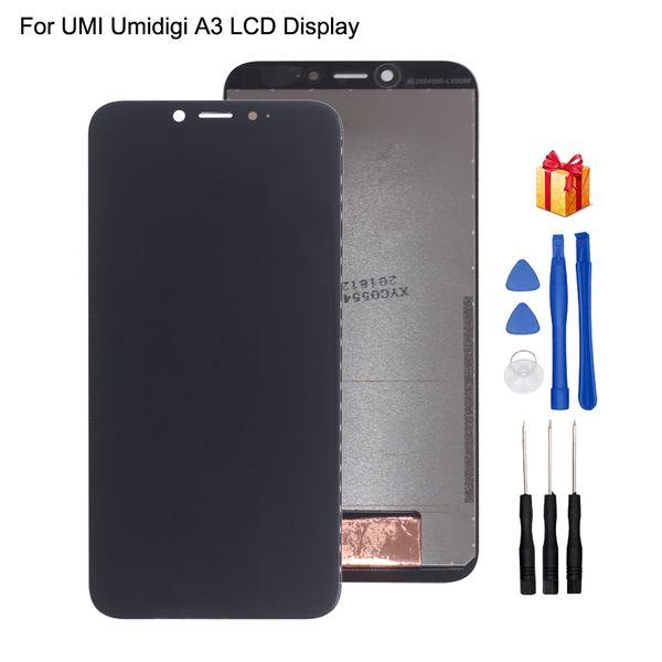 Orijinal UMI Umidigi A3 UMI Umidigi A3 Için LCD Ekran Dokunmatik Ekran Digitizer Ekran Ekran Meclisi Telefon Parçaları Ücretsi ...