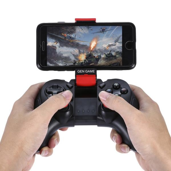 GEN GAME S6 Deluxe Wireless Bluetooth Gamepad Joystick Compatible with iOS/Android smartphone Tablet TV box Windows PC
