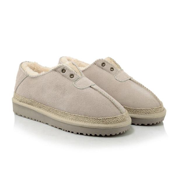Winter Thicker Warm Women Low Cut Snow Boots Frosted Faux Fur Flat Bottom shoe Lady Slip On platform shoes Platform