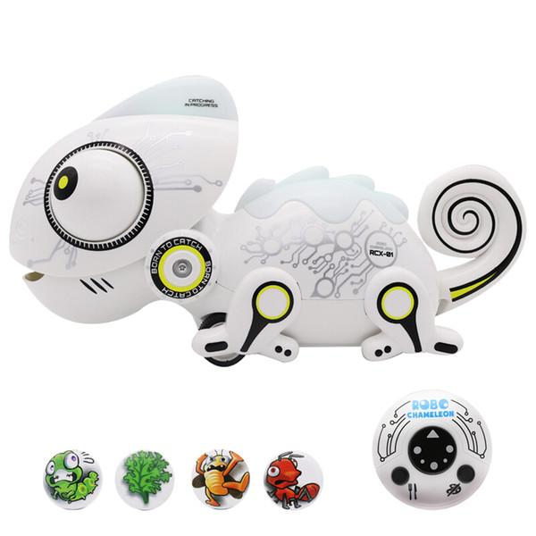 Silverlit ROBO Chameleon Animal Shaped Intelligence Electronic Remote Control Pet Moveable Robots for Children Kids LJJO7185
