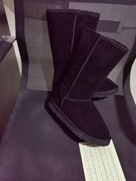 7 black high boots