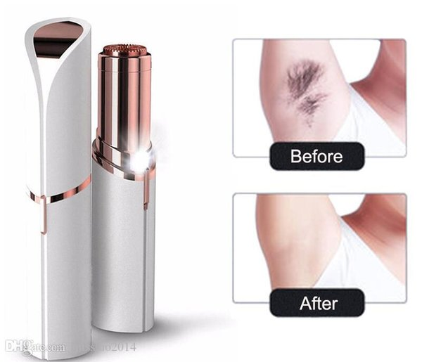 Lady Mini Electric Shaver Female Body Hair Removal Razor Trimmer Painless Hair Remover Facial Body Depilator Lipstick Shaving Machine Tools