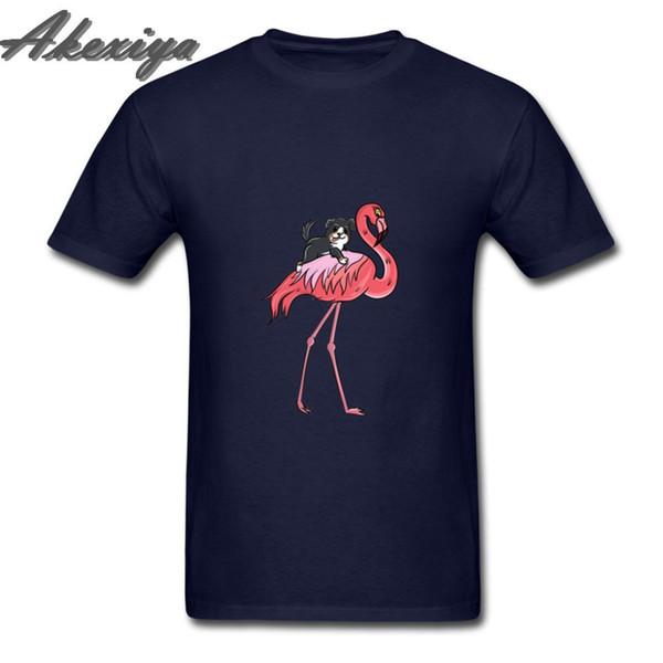 Compression Рубашка Бернский зенненхунд езда Flamingo тенниска Чистый хлопок печати с коротким рукавом Пара Tshirt Мода Streetwear