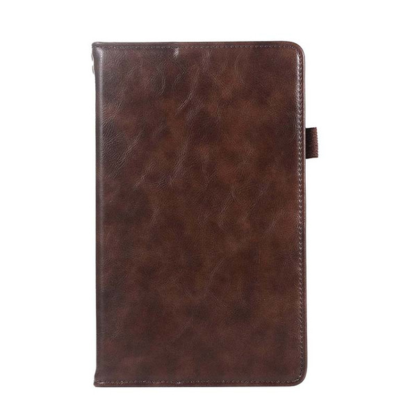 Classic Half Genuine Leather Tablet Case Cover For Huawei M5 8.4 With Shockproof Folding Stand PU Leather protective shell