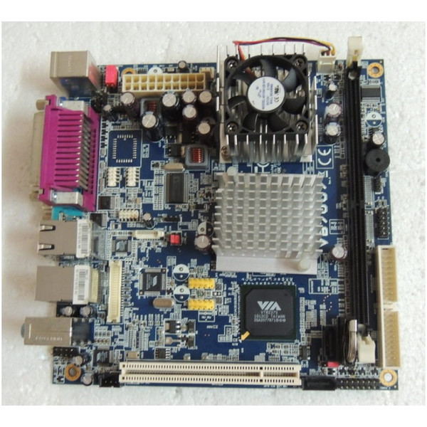 VB7007 Mini-ITX 17*17 Industrial mainboard CPU Board tested working