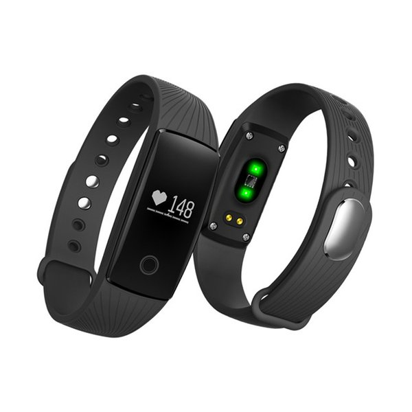 ID107 Smart Bracelet Watch Fitness Tracker Heart Rate Monitor Pedometer Wristwatch For Iphone Android Smart Phone Watch