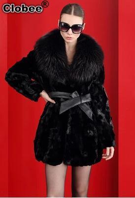 6XL Fall Winter Faux  Fur Elegant Ladies Female Long Warm Coat Turn Down Collar Sweet 2019 Overcoat Sexy Office Coat YY987