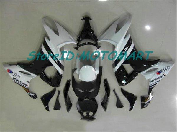 Cuerpo para KAWASAKI NINJA ZX 10 R ZX10R 08 09 10 ZX 10R ZX1000 C ZX1000C ZX-10R 2008 2009 2010 Fairing kit KM51