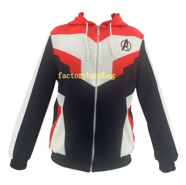 Avengers Endgame Quantum Realm Sweat Veste Advanced Tech Hoodie Costumes Cosplay 2019 nouvelle super-héros Iron Man Hoodies costume