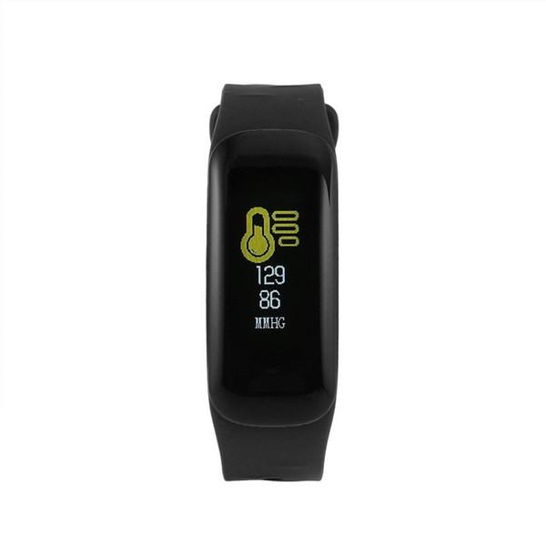 C1 intelligent Band Fitness Tracker Sport Smart Monitor Bracelet IP67 étanche Sédentaire Remind 6 couleurs Bandeaux