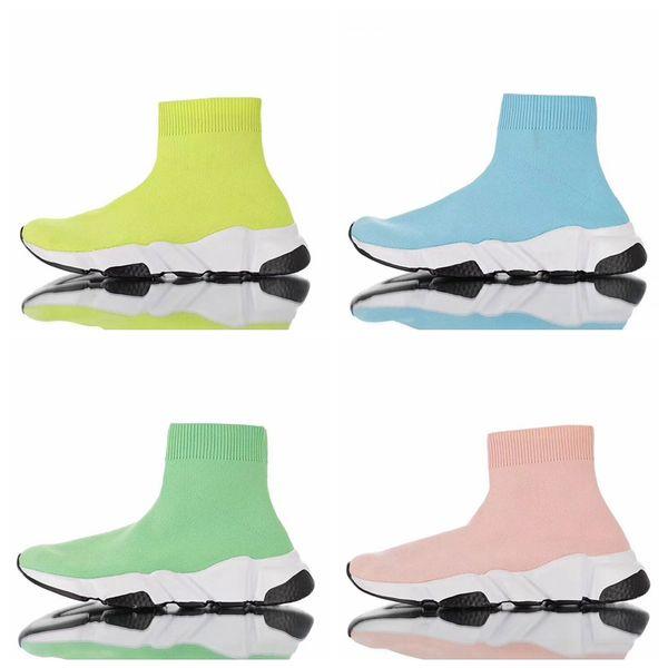Speed Trainer bonbonfarben Socke Schuhe Volt Herren Laufschuhe Für Männer Hochwertige Turnschuhe Trainer Socken Race Runners Sportschuhe Größe 11