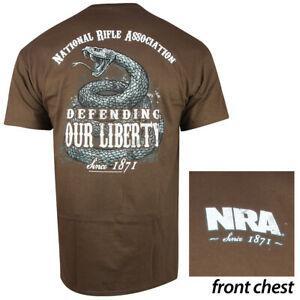 NRA DeBrandng Liberty T-Shirt (M)- Coffee
