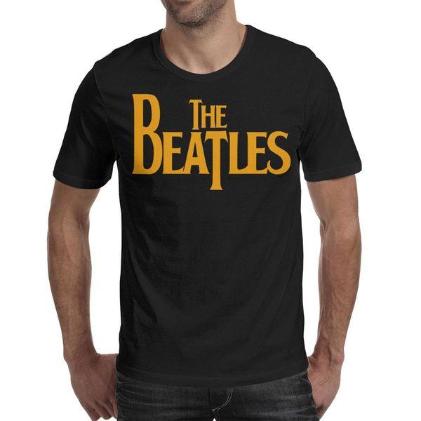 Paul McCartney-The-Beatles Man's Tops Soft Running Cotton O Neck Shirts Macho T Shirt Fashion T Shirts for Man