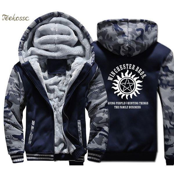 Hot Supernatural Hooded Sweatshirts Hoodies Coat Clothing Casual Jacket new