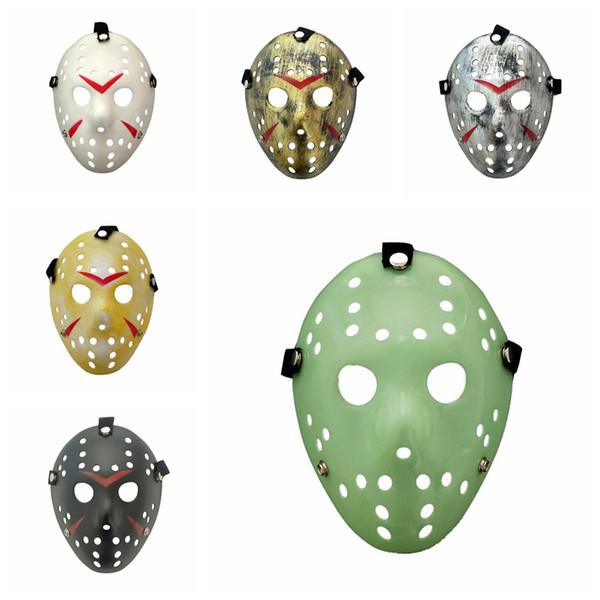 Yaratıcı Freddy Vs Jason Maskeler 13. Kara Cuma Eğlence Korku Maske Dans Parti Tam Yüz Cadılar Bayramı Partisi Oyuncak TTA1883 Maske