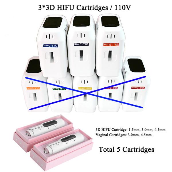 3 * cartuchos 3D HIFU / 110V