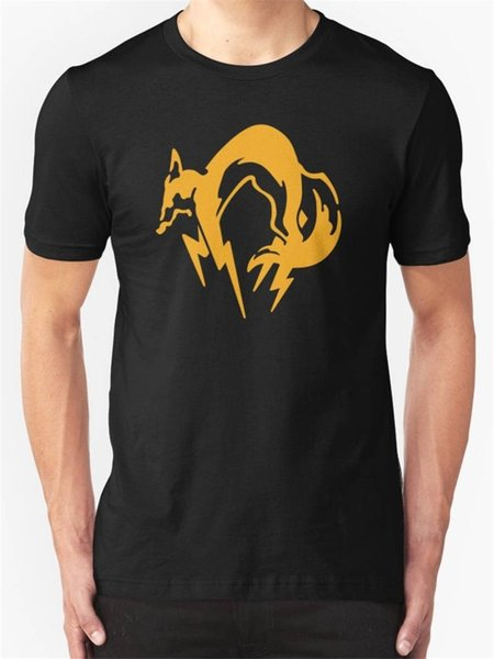 Cotton T Shirt Fashion Free Shipping Crew Neck Men Short-Sleeve Gear Solid Fox Premium Tee Shirts