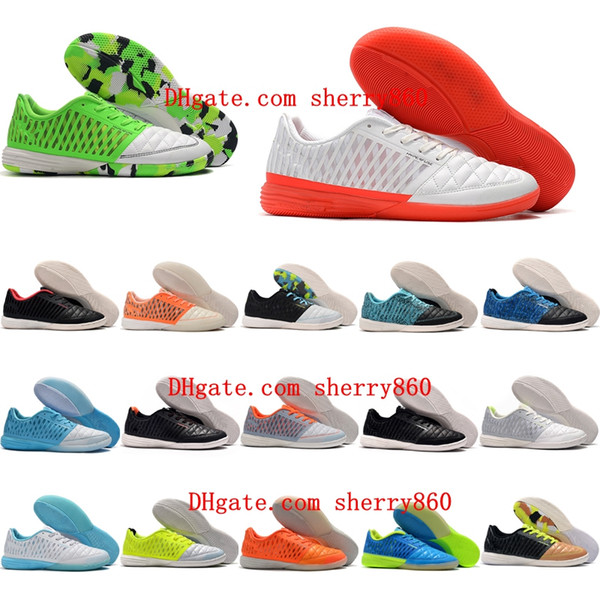 best selling 2020 top quality new arrival mens soccer shoes Lunar Gato II IC indoor soccer cleats cheap football boots low ankle Tacos de futbol