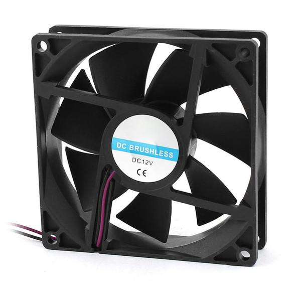 90 mm x 25 mm 9025 2-poliger bürstenloser 12-V-PC-Gehäuselüfter mit CPU-Kühler