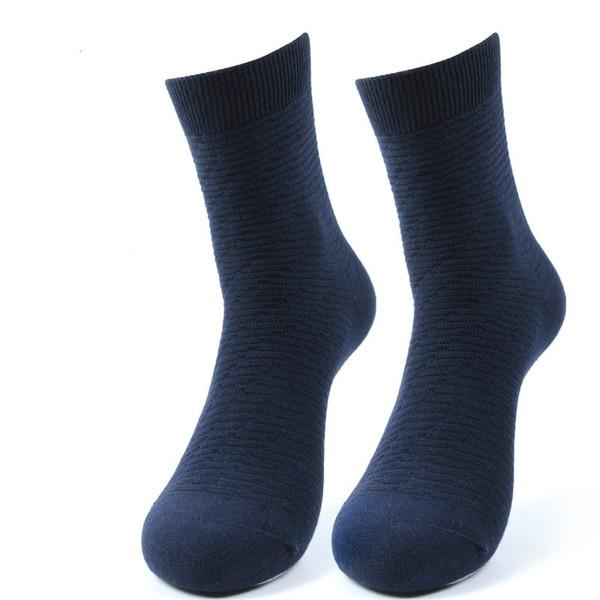 Sıcak Yumuşak erkek Çorapları Termal Rahat Yumuşak Saf Pamuk Spor Çorap Hediye 5 Renkler