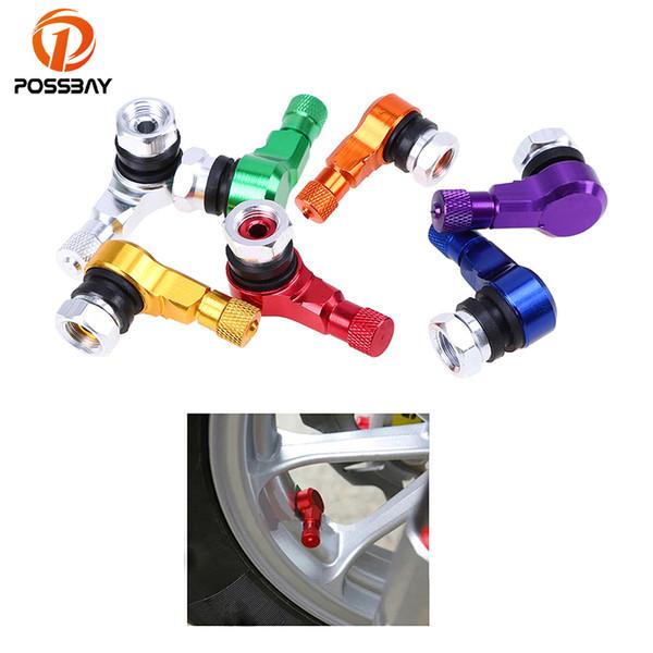 POSSBAY Aluminium Universal Auto Reifen Luftventilkappen Fahrrad Reifen Ventilkappe Auto Radabdeckung Auto SUV Rad Reifen Reifen Ventile
