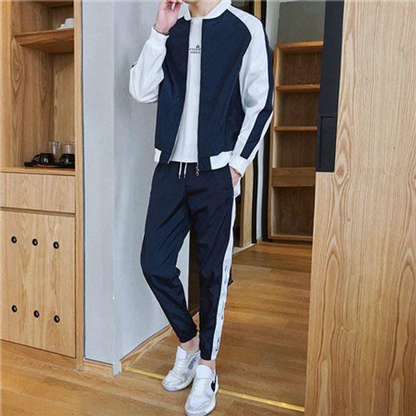Mens Designer Trainingsanzüge Windbreaker + Pants Sport Running Set College High Street Style Kits Lässige Mode Anzüge Mantel Hose mit QSL198222
