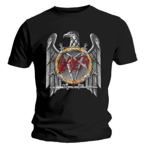 Slayer 'Silver Eagle' T-shirt - NEUF Officiel