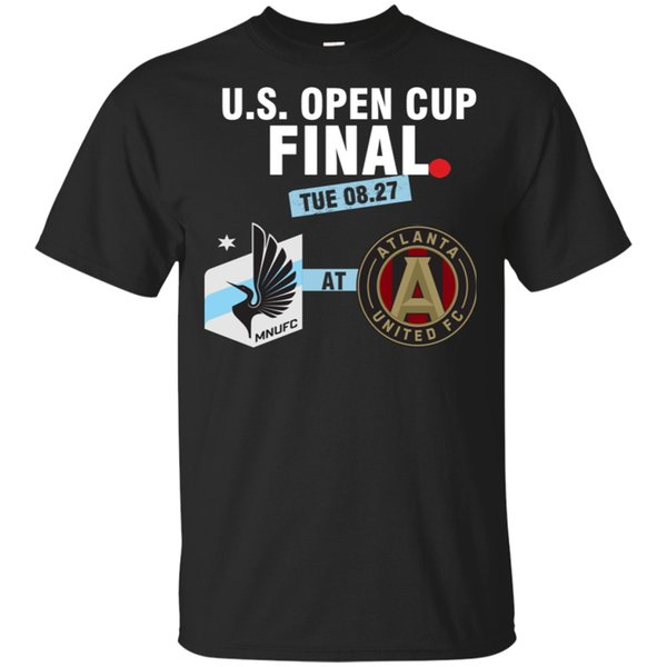 Fortschritte bei Open Cup Finale T-Shirt 2019 Atlanta United und Minnesota Black MEN