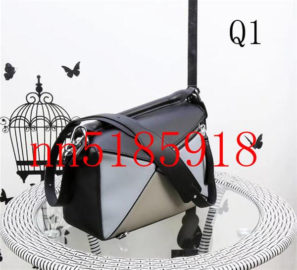 New fashion 2020 leather puzzle ladies shoulder bag, novel handbag, size 24CM, 30CM, free shipping