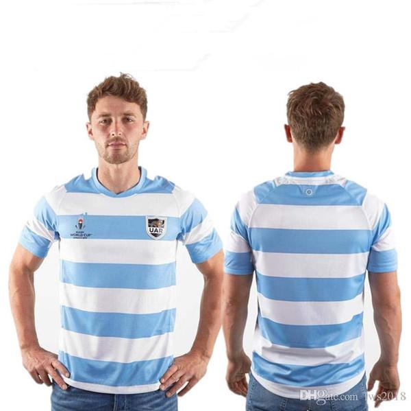 Аргентина регби RWC 2019 главная Джерси размер S--3XL высокое качество Бесплатная доставка
