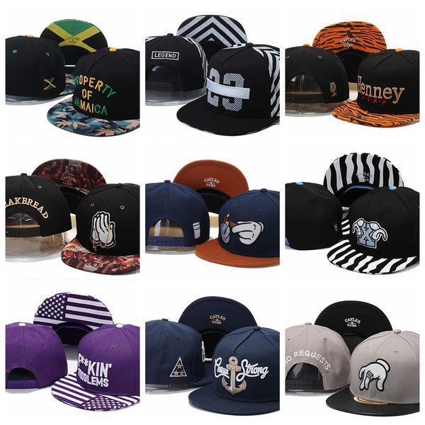 Cayler & Sons DROP ERTY OF JAMAICA LEGEND 23 BREAKBREAD FUKIN PROBLEMS CREW STONG Baseball Caps Outdoor Adjustable gorros men Snapback Hats