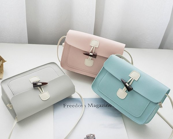 Best selling high quality luxury new women's bag mini casual small square bag small fresh single shoulder slung mobile phone bag personality