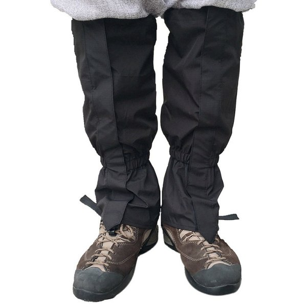 Unisex Su Geçirmez Legging Körüğü Bacak Kapak Kamp Yürüyüş Kayak Boot Seyahat Ayakkabı Kar Avcılık Tırmanma Çorapları Rüzgar Geçirmez Yeni