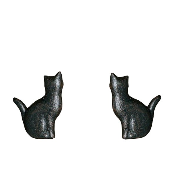 best selling 2pcs Creative Cat Style Cupboard Drawer Handle Knobs Kitchen Cabinet Knobs