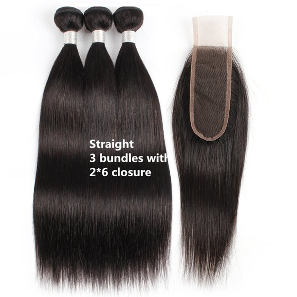 Straight bundles with 2*6 closure