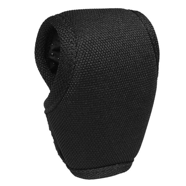 Nylon Foam Padded Car Gear Shift Knob Shifter Cover Sleeve Pad Case Black