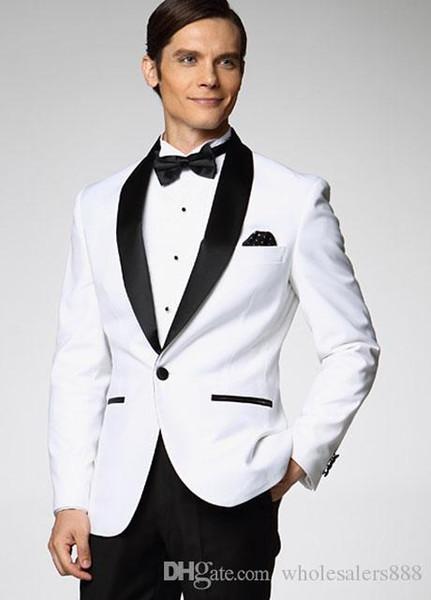Custom Made Groomsman New Arrival Groom Tuxedos 10 Styles Men's Suit Classic Best Man Wedding/PromSuits (Jacket+Pants+Tie+Girdle) J961A