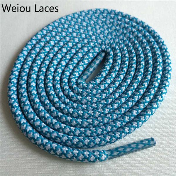 27 White-Emerald Blue 120cm
