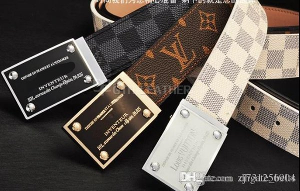 2018 brand men Belts Formal Men's Waistband Buckle Belt Leather New Waist Casual Genuine All Match Fashion Straps Super Quality Cheap S