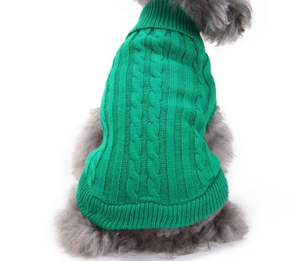 NewDog sweater for autumn winter warm knitting crochet clothes for dog chihuahua dachsh Classic dog clothes