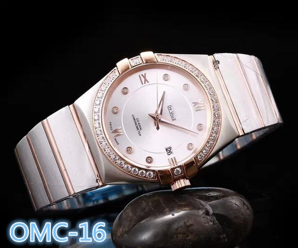 luxury Mens designer watches 38mm diamond iced out watch automatic mechanical movenment wristWatches 316 stainless steel orologio di lusso