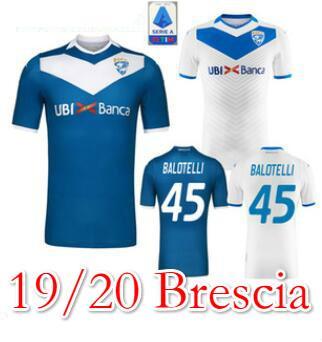 19 20 Brescia Calcio SOCCER JERSEYS #45 Balotelli 2019 2020 HOME AWAY maglie Magnani Tonali Donnarumma Ayé maglietta Morosini football shirt