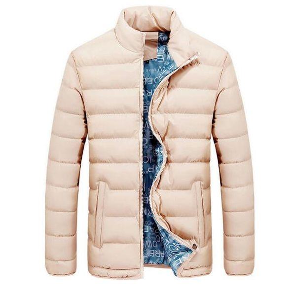 New Jacket Men 2018 Autumn Winter Cool Design Hip Hop Outwear  Clothing Fashion Solid Male Windbreaker Mens Jackets M-4XL